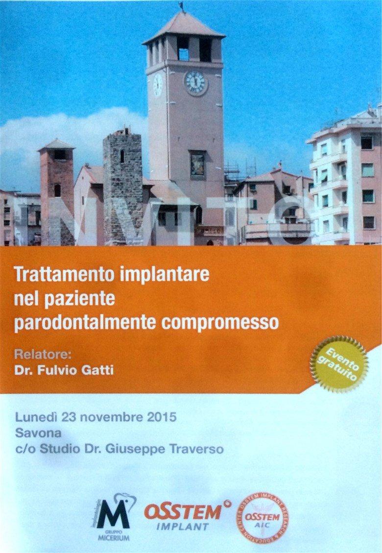 Trattamento Implantare Parodontite - Dottor Fulvio Gatti